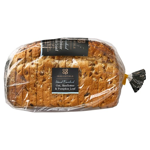 Picture of Co-op Irresistible Hand Finished Oat, Sunflower & Pumpkin Loaf 800g