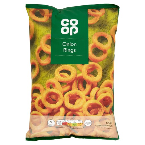 Picture of Co Op Onion Rings 125g