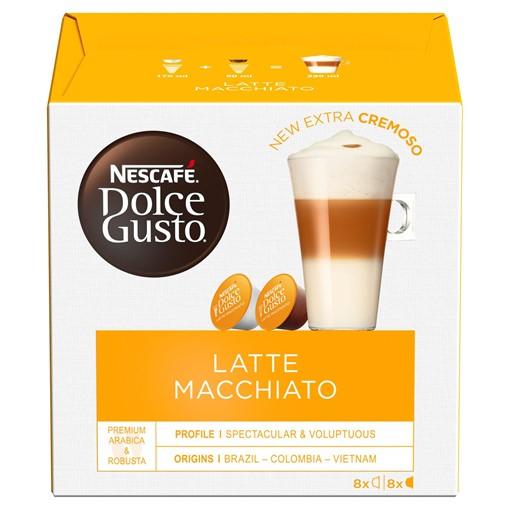 Picture of NESCAFÉ Dolce Gusto Latte Macchiato Coffee Pods, 16 Pods Per Box