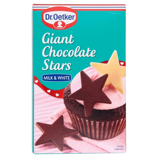 Picture of Dr. Oetker Giant Chocolate Stars (12)