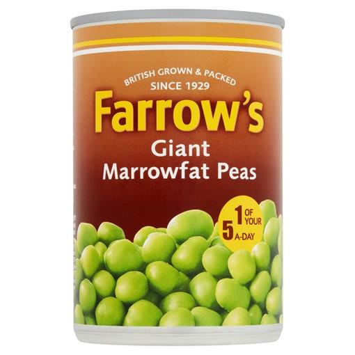 Picture of Farrow's Giant Marrowfat Peas 300g