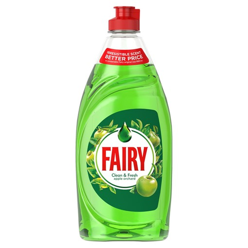 Picture of Fairy Clean & Fresh Washing Up Liquid Apple Orchard 520 ml