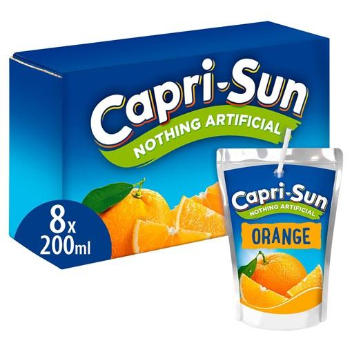 Picture of Capri-Sun Orange 8 x 200ml