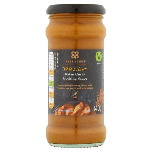 Picture of Co-op Irresistible Katsu Curry Cooking Sauce 340g