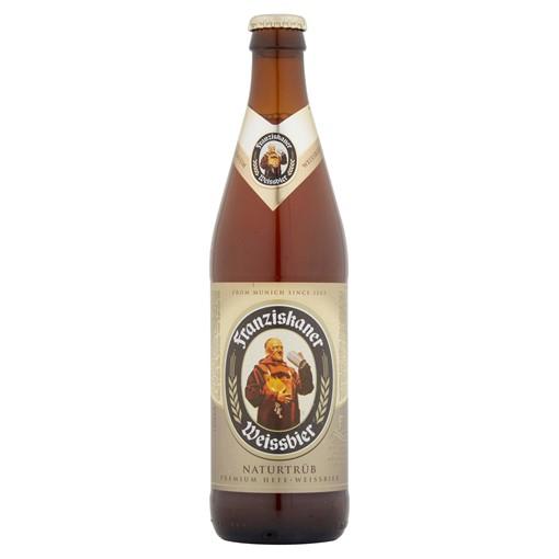 Picture of Franziskaner Weissbier German Wheat Beer Bottle 500ml