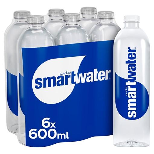 Picture of Glacéau Smartwater Still 6 x 600ml