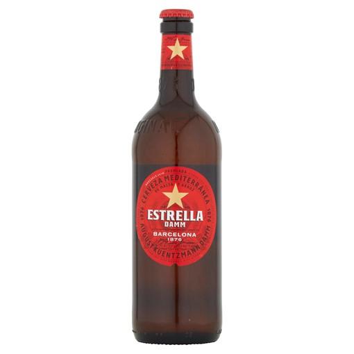 Picture of Estrella Damm Premium Lager Beer 660ml