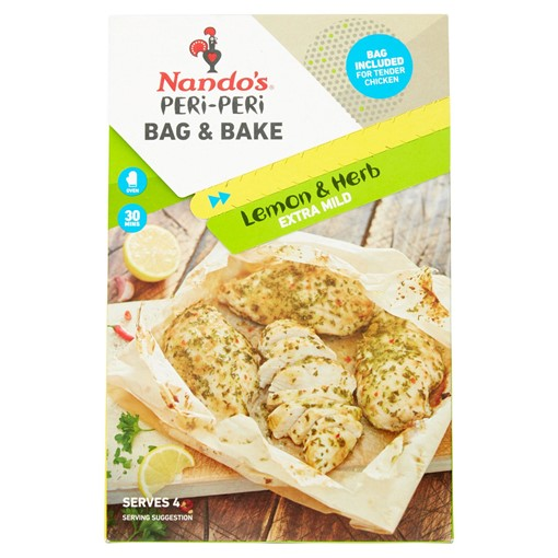 Picture of Nando's Peri-Peri Bag & Bake Lemon & Herb 20g