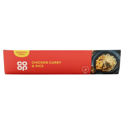 Picture of Co Op Chicken Curry & Rice 425g