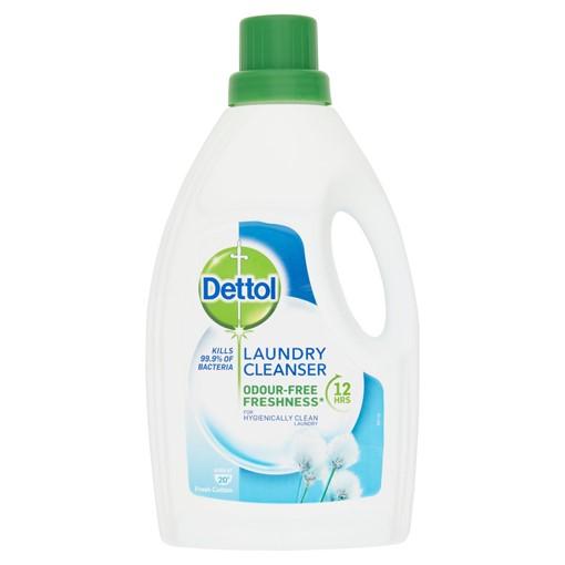 Picture of Dettol Laundry Cleanser Fresh Cotton 1L