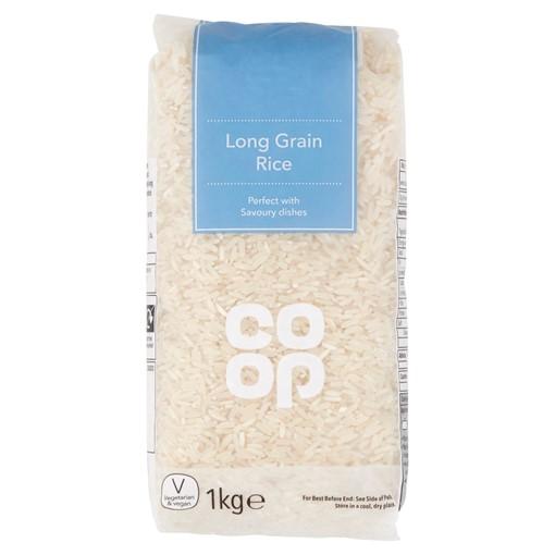 Picture of Co-op Long Grain Rice 1kg