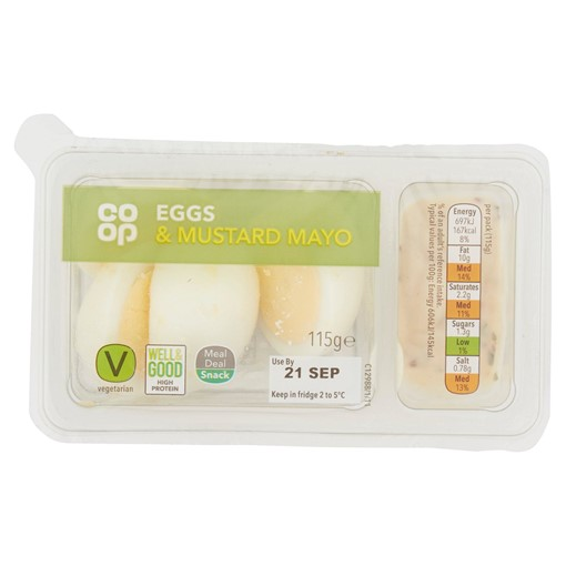 Picture of Co-op Eggs & Mustard Mayo 120g