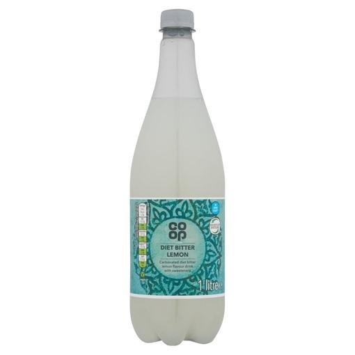 Picture of Co-op Diet Bitter Lemon 1 Litre