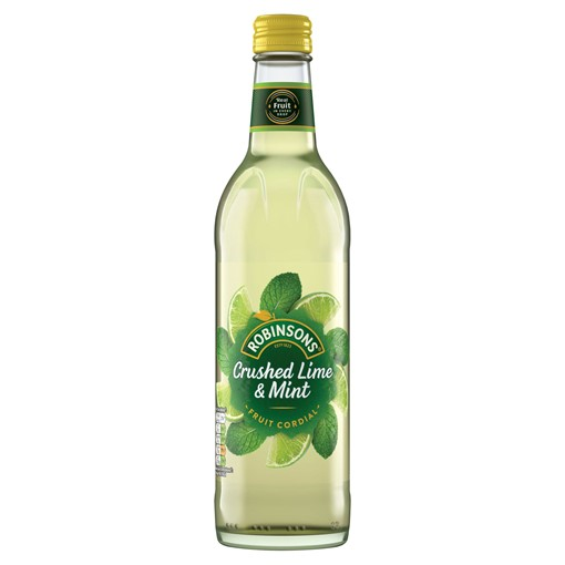 Picture of Robinsons Crushed Lime & Mint Fruit Cordial 500ml