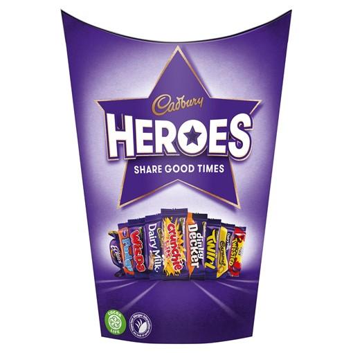 Picture of Cadbury Heroes Chocolate Carton 185g