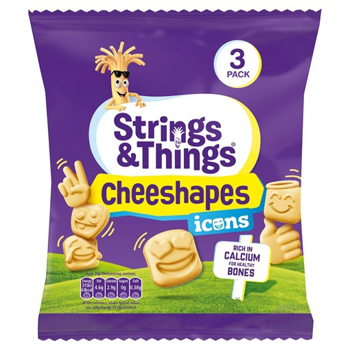 Picture of Strings & Things Cheeshapes Icons 3 x 22.5g (67.5g)