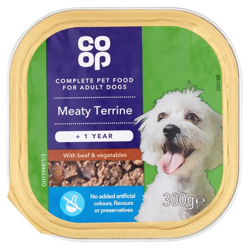 Picture of Co-op Meaty Terrine with Beef & Vegetables +1 Year 300g