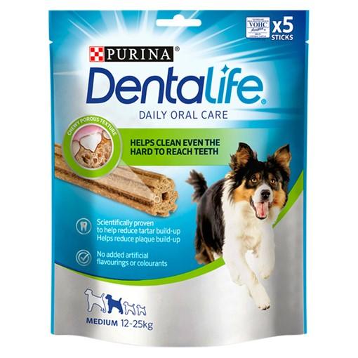 Picture of DENTALIFE Medium Dog Treat Dental Chew 5 Stick