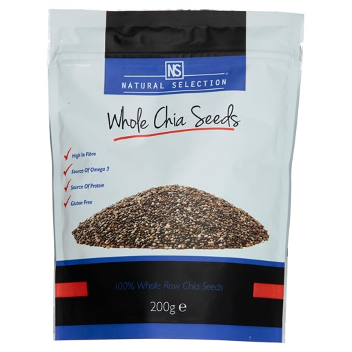 Picture of Natural Selection Whole Chia Seeds 200g