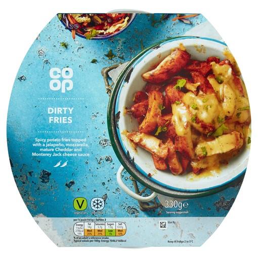 Picture of Co Op American Menu Dirty Fries 330g