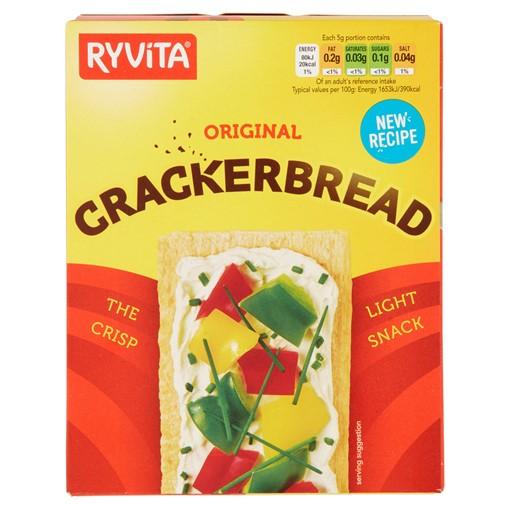 Picture of Ryvita Original Crackerbread 125g