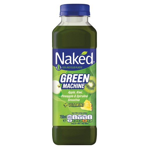 Picture of Naked Green Machine Apple Banana Smoothie 750ml