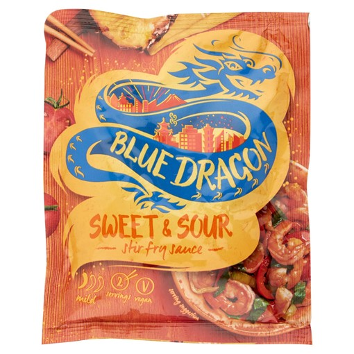 Picture of Blue Dragon Sweet & Sour Stir Fry Sauce 120g