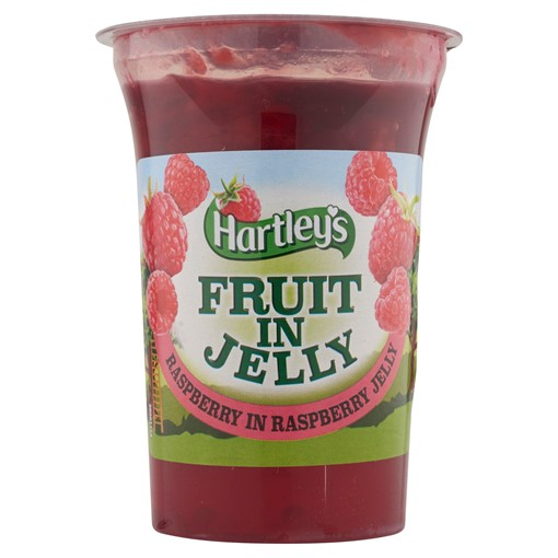 Picture of Hartley's Fruit in Jelly Raspberry in Raspberry Jelly 175g