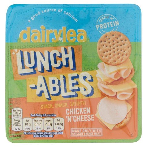 Picture of Dairylea Lunchables Chicken 'n' Cheese Stackers 76.8g