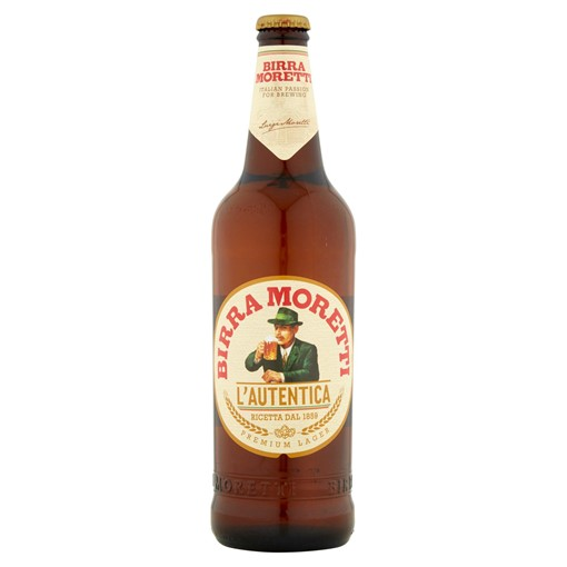 Picture of Birra Moretti Lager Beer 660ml Bottle