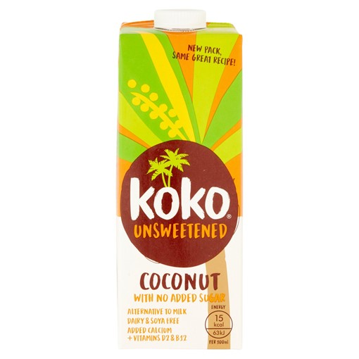 Picture of Koko Unsweetened Coconut UHT 1L