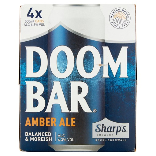 Picture of Sharp's Doom Bar Amber Ale 4 x 500ml