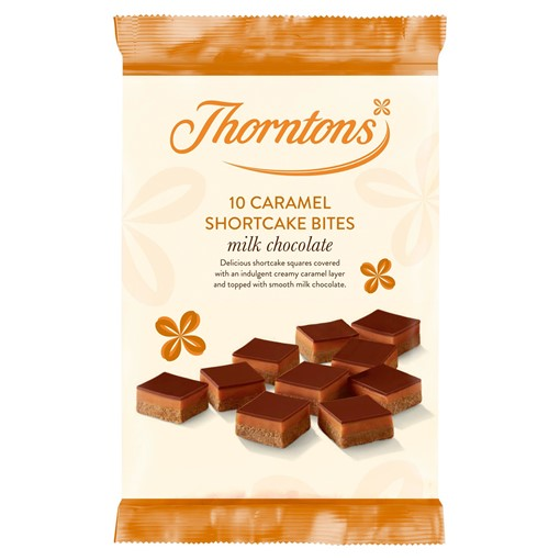 Picture of Thorntons 9 Milk Chocolate Caramel Shortcake Bites