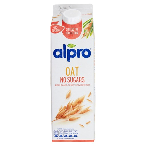 Picture of Alpro Oat No Sugars Chilled Drink 1L