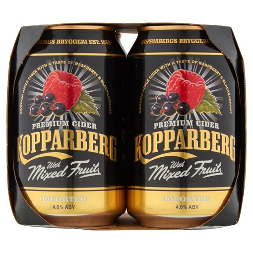Picture of Kopparberg Mixed Fruit 4 x 330ml