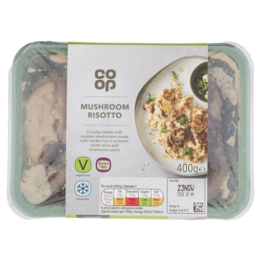 Picture of Co Op Mushroom Risotto 400g