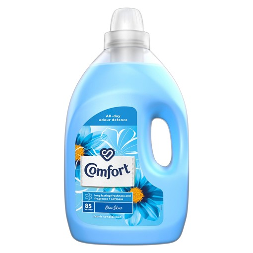 Picture of Comfort Blue Skies Fabric Conditioner 85 Wash 3 l