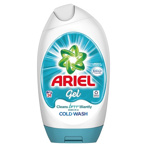 Picture of Ariel Washing Gel Febreze 888ML, 24 Washes