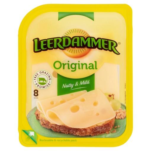 Picture of Leerdammer Original Dutch Cheese 8 Slices 160g