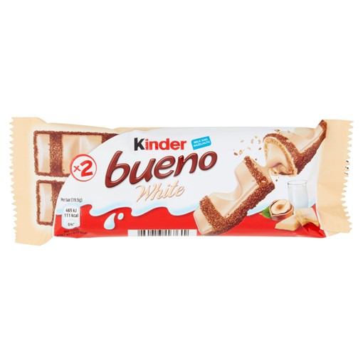 Picture of Kinder Bueno White Milk and Hazelnuts 39g