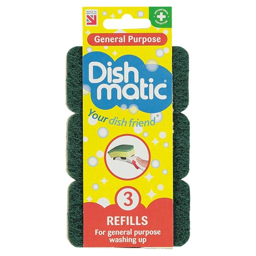 Picture of Dishmatic General Purpose Refills 3 Pack