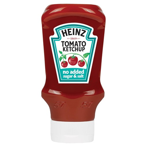 Picture of Heinz No Added Sugar & Salt Tomato Ketchup 425g