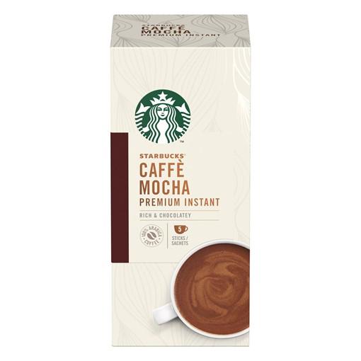 Picture of Starbucks Mocha Premium Instant Coffee 5 x 22g Sachets