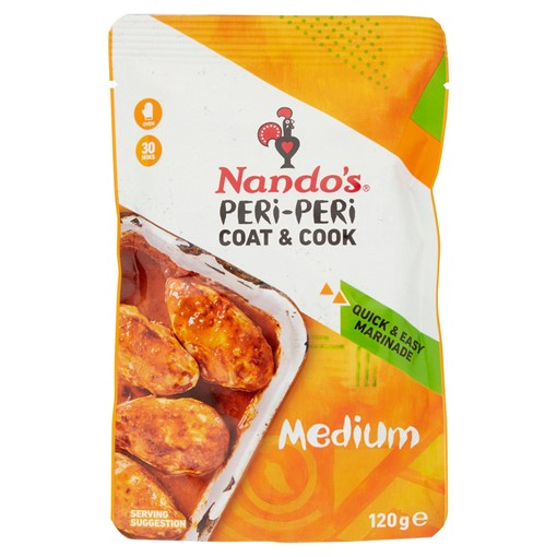 Picture of Nando's Peri-Peri Coat & Cook Medium 120g