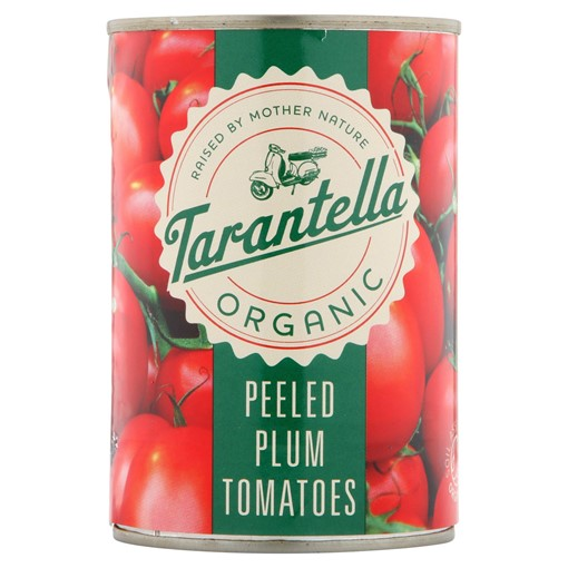 Picture of Tarantella Organic Peeled Plum Tomatoes 400g