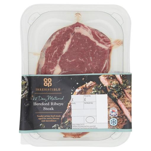 Picture of Co-op Irresistible Hereford Ribeye Steak