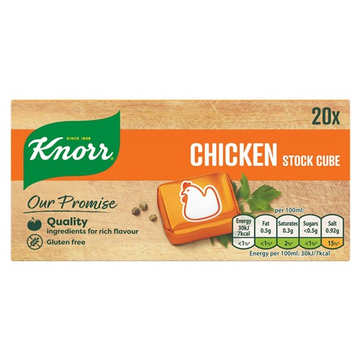 Picture of Knorr Chicken Stock cubes 20 x 10 g