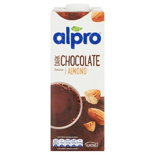 Picture of Alpro Almond Dark Chocolate Long Life Drink 1L