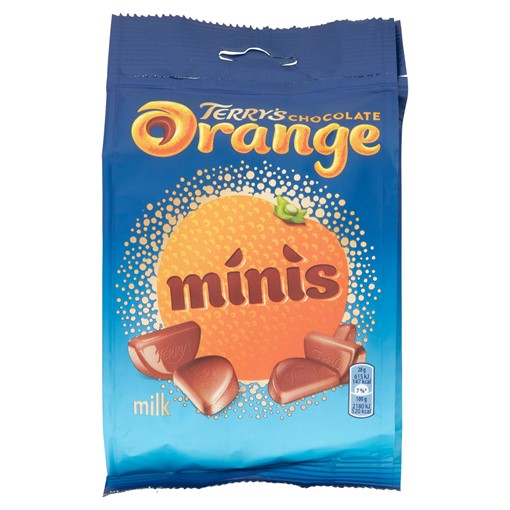 Picture of Terry's Chocolate Orange Minis Sharing Bag 125g
