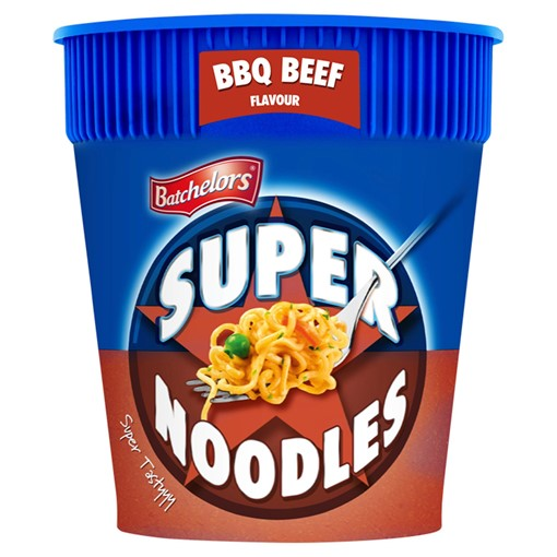 Picture of Batchelors Super Noodles BBQ Beef Flavour 75g